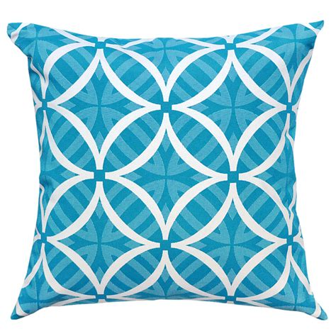 Patio Cushions Turquoise Coolum Turquoise Outdoor Cushion 45x45cm Hupper