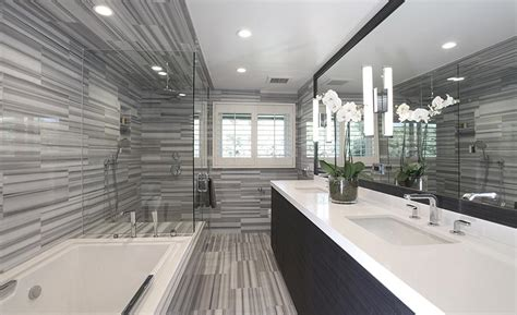california bathroom transforming two outdated southern california bathrooms