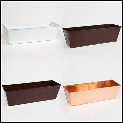 Planter Box Liners by Metal Plastic Window Box Liners Outdoor Planter Box