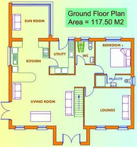 ground floor plan for home ground floor first floor home plan house design ideas