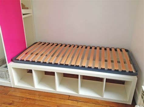 Ikea Expedit Bed Frame Pinterest The World S Catalog Of Ideas