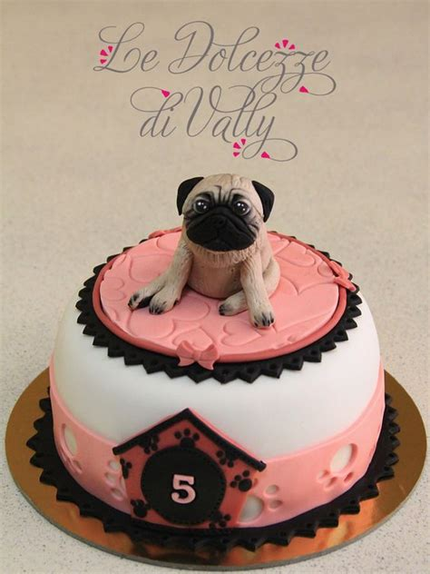 pug cake decorations pug cake pug and cakes on