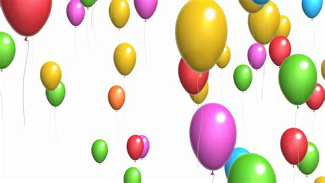 animation  colorful confetti falling stock footage video