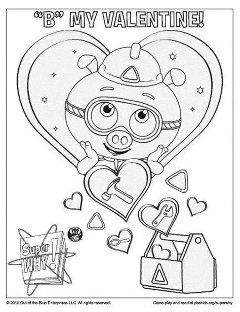 super why coloring page super why party pinterest