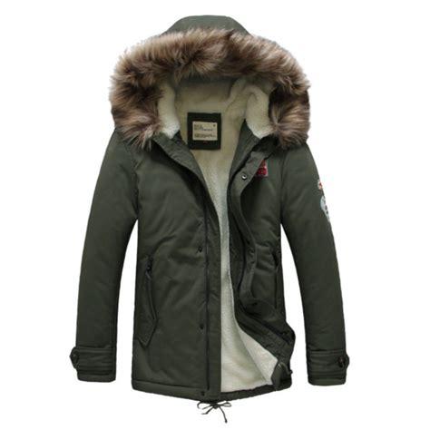 warm coats mens warm cotton winter casual jacket upset coats at banggood
