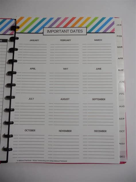 printable day planner 2014 important dates printable special planner 2014 2015 day