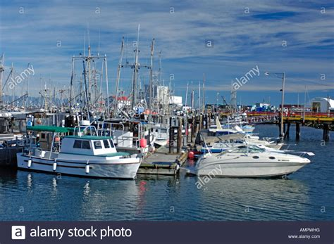 fishing boats at french creek vancouver island bc canada - Free Boats On Vancouver Island