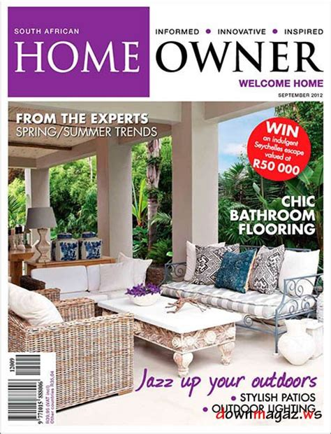 home decor magazines south africa home owner south africa september 2012 187 download pdf