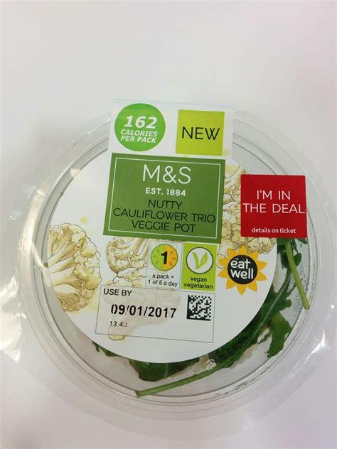 excited eater marks  spencer vegan meal deal