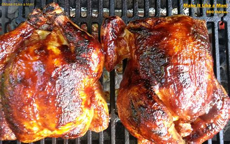 how to barbecue whole chickens on the charcoal grill with