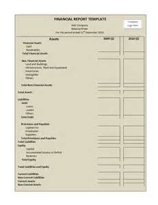 Finance Report Template sample financial form format template apps directories