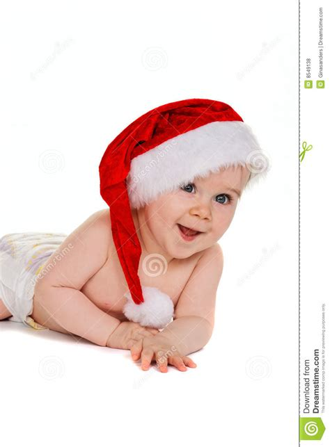 Small Child With Santa Claus Hat Baby Royalty Free Stock Photos Image 8549138 Pictures Of Small Children