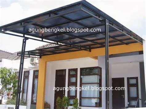 Kanopi Besi Atap Twinlite bengkel agung semarang kanopi rumah tinggal
