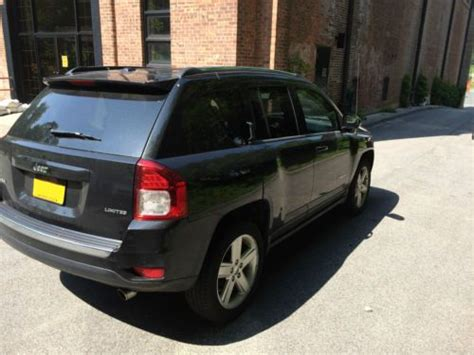 jeep compass limited sunroof buy used jeep compass limited black with black interior