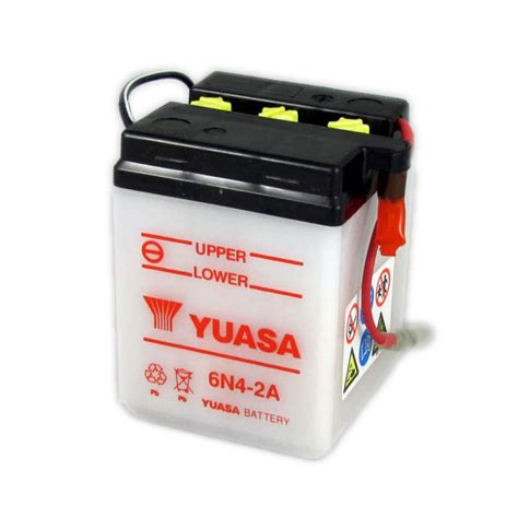 Motorrad Batterie 6v by Yuasa Motorcycle Battery 6n4 2a 6v 4ah From County Battery