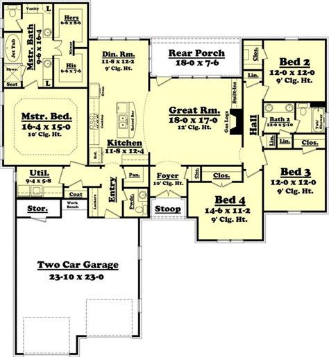one room deep house plans 147 best images about floor plans on pinterest craftsman