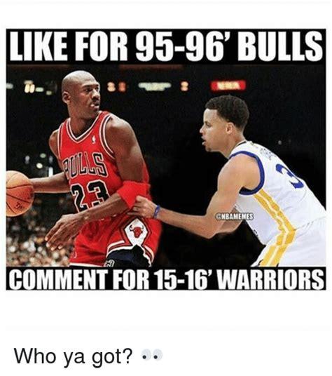 Bulls Memes - like for 95 96 bulls gnbamemes comment for 15 16
