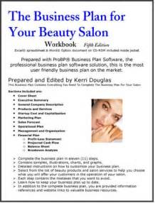 Spa Business Plan Template by The Business Plan For Your Salon Business Plans