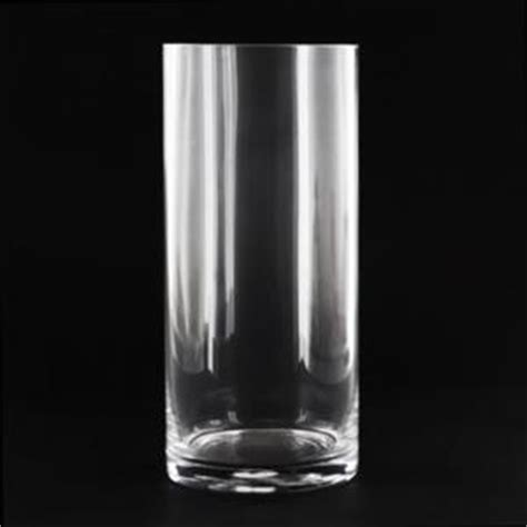4 Inch Cylinder Vase by 4 5x10 Inch Cylinder Glass Vase Glass Container
