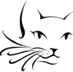 Cat Outline by Cat Outline Cheek Arm Design Painting Designs By Valerie Cat Outline