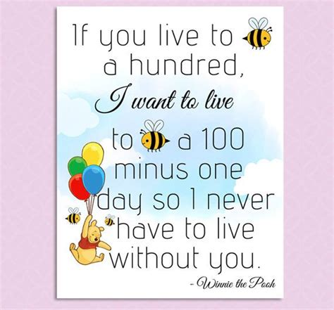 printable pooh quotes printable winnie the pooh quote nursery decor