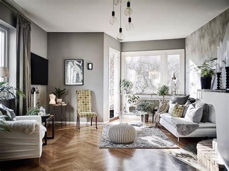 unique decor style in a swedish apartment