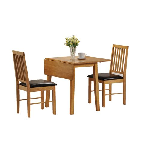 kitchen table with leaf and chairs drop leaf tables dining furniture ebay
