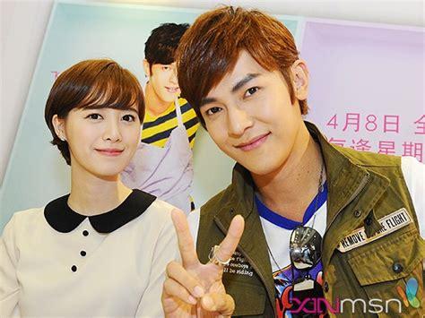 ku hye sun boyfriend absolute boyfriend s ku hye sun and jiro wang meet fans in