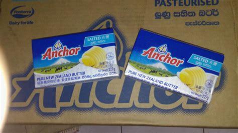 Anchor Unsalted Butter Untuk Mpasi Bayi jual butter anchor salted 227gr msmartshop ol