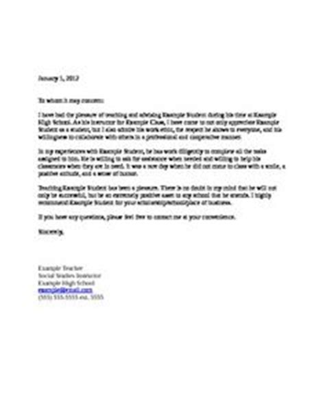 Recommendation Letter For A Special Needs Student recommendation letter for a friend template