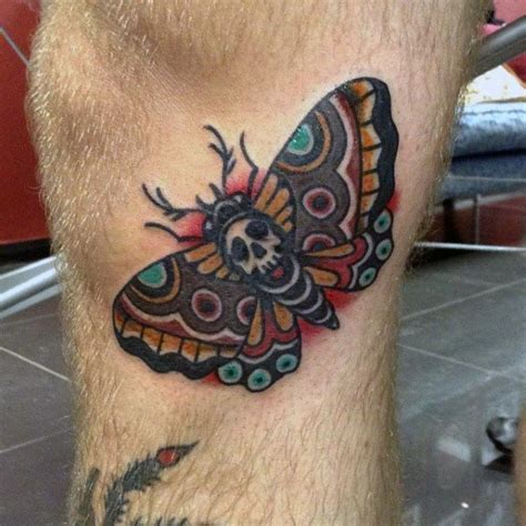 nocturnal tattoo 50 traditional moth designs for nocturnal
