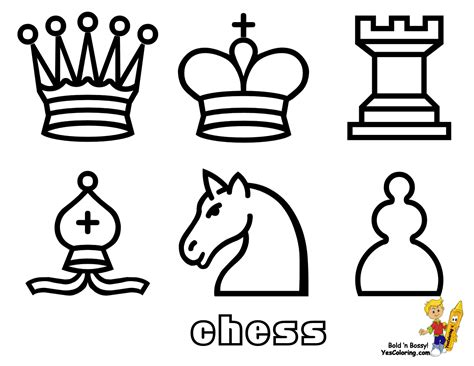 chess king coloring page king chess colouring pages