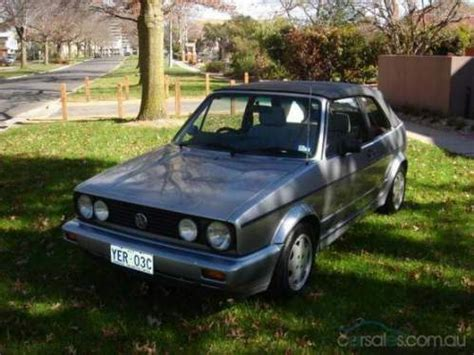 1991 used volkswagen golf convertible car sales watson act good 6 000