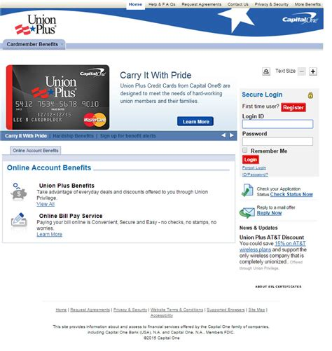 credit card make a payment union plus credit card login make a payment