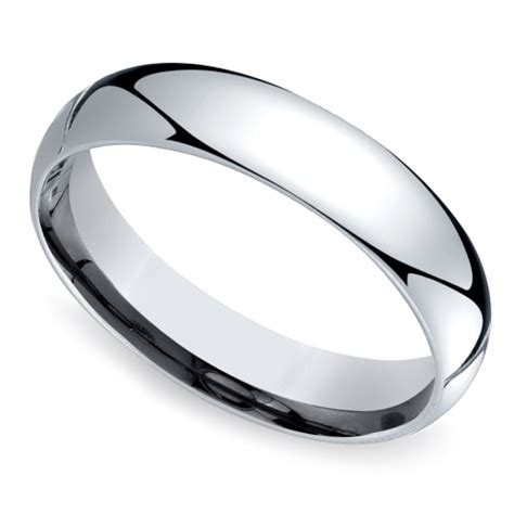 mid weight s wedding ring in platinum 5mm image 01
