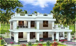 Roof house in 2567 square feet kerala home design and floor plans