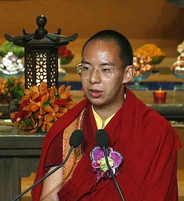 film cina lama panchen lama delivers first speech outside chinese