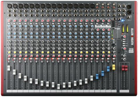 Mixer Audio Allen allen heath zed 22fx vintage king audio