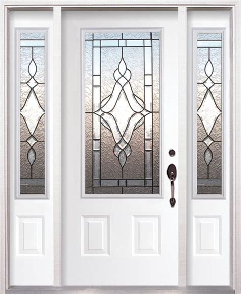 Doors Fiberglass Doors And Wood Entry Doors Decorative Decorative Glass Entry Doors