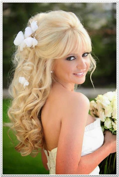 Brautfrisur Lange Haare Offen by Brautfrisuren Langes Haar Offen