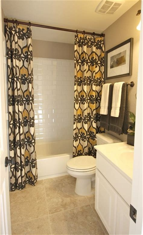 using shower curtains as curtains bathroom curtains use regular curtains and take rod to