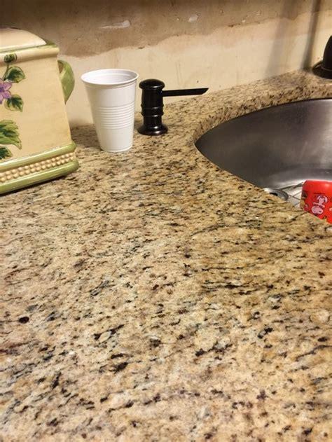 granite countertop care problems deductour com problem with granite countertop