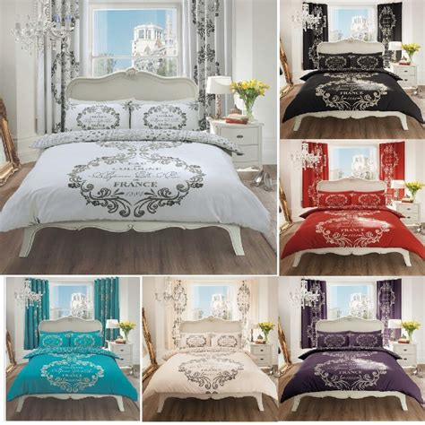anthology script bedding from e bay modern style script duvet set with pillow cover or curtains ebay