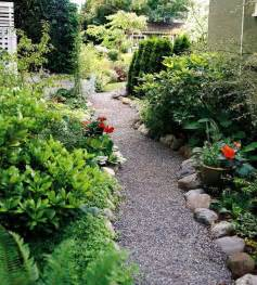 garden path ideas gravel walkways gardens river rocks