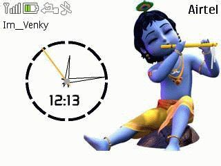 krishna clock themes clock nokia 5130 xpressmusic themes free download dertz