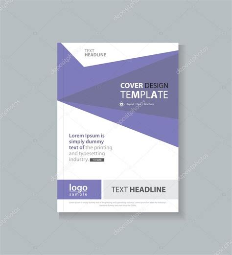 business cover design template and brochure annual