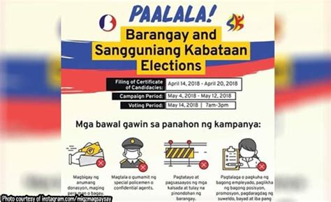 Post It T2b Poll Reminder by Eleksyon Na Naman Councilor Magsaysay Posts Reminders For
