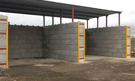 Duo Interlocking Precast Concrete Blocks for Temporary works and Cofferdams