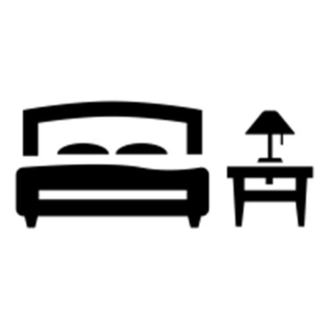 Bed In Living Room by Bedroom Icons Noun Project