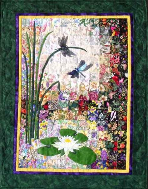 Dragonfly Quilts by Quot Dragonflies Lilypads Quot Watercolor Quilt Kit Diy